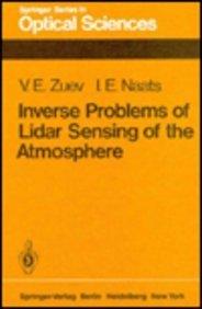 9780387109138: Inverse Problems of Lidar Sensing of the Atmosphere: Springer Series in Optical Sciences