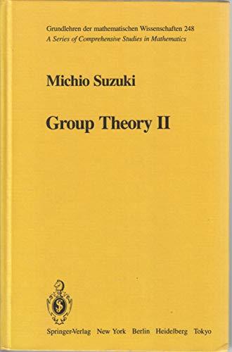 9780387109169: Group Theory II