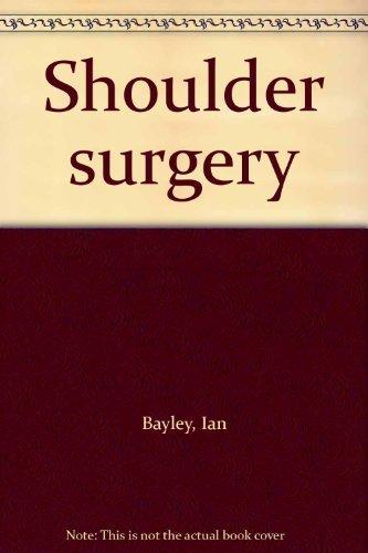 9780387110400: Shoulder surgery