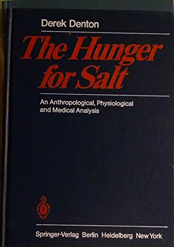 9780387112862: Hunger for Salt: An Anthropological, Physiological and Medical Analysis