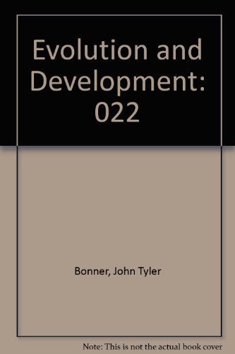 9780387113319: Evolution and Development (Life Sciences Research Report 22)