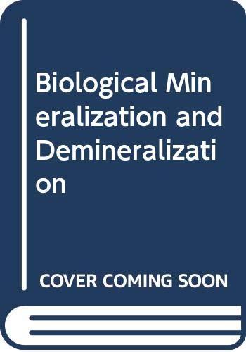 9780387115214: Biological Mineralization and Demineralization: 23