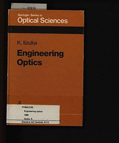 9780387117935: Title: Engineering optics Springer series in optical scie