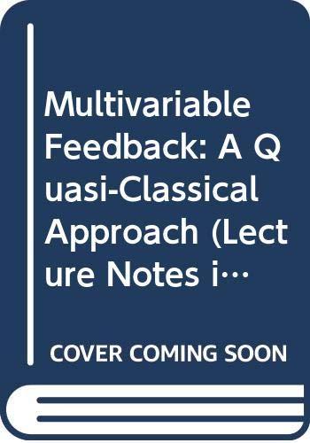 9780387119021: Multivariable Feedback: A Quasi-Classical Approach