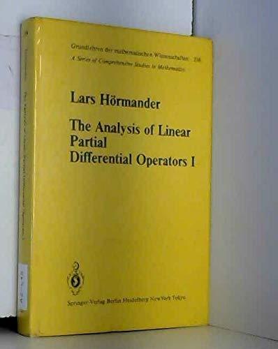 The Analysis of Linear Partial Differential Operators I (Grundlehren Der Mathematischen ...