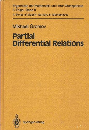 9780387121772: Partial Differential Relations (ERGEBNISSE DER MATHEMATIK UND IHRER GRENZGEBIETE 3 FOLGE)