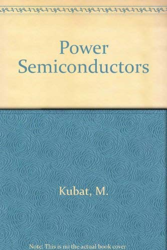 9780387125695: Power Semiconductors