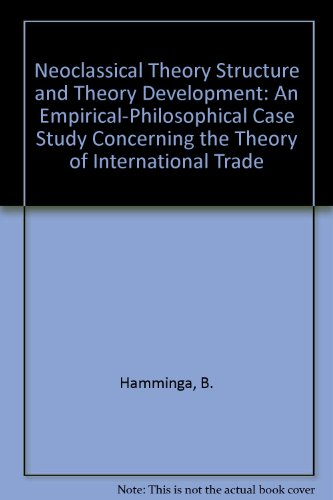 9780387128160: Neoclassical Theory Structure and Theory Development: An Empirical-Philosophical Case Study Concerning the Theory of International Trade