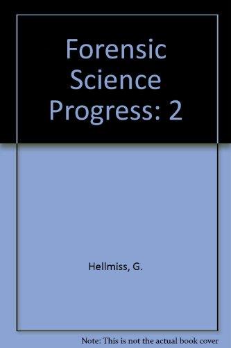 9780387129372: Forensic Science Progress, Volume 2
