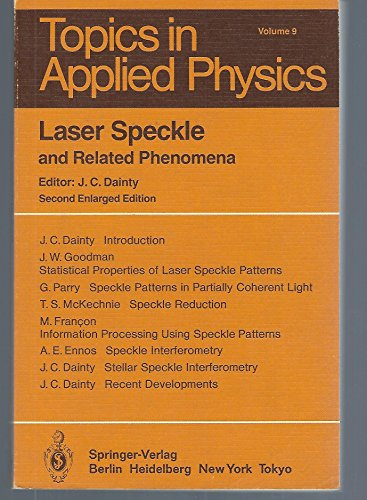 9780387131696: Laser Speckle and Related Phenomena (Topics in Applied Physics)