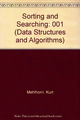 9780387133027: Sorting and Searching (DATA STRUCTURES AND ALGORITHMS)