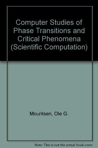 9780387133973: Computer Studies of Phase Transitions and Critical Phenomena (SPRINGER SERIES IN COMPUTATIONAL PHYSICS)