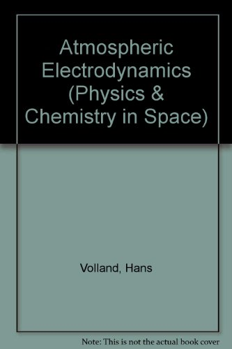 9780387135106: Atmospheric Electrodynamics