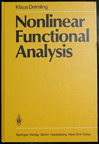 9780387139289: Nonlinear Functional Analysis