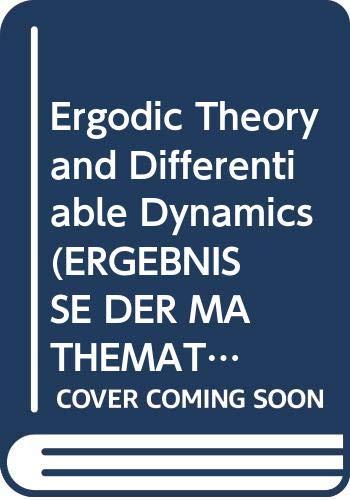 9780387152783: Ergodic Theory and Differentiable Dynamics (ERGEBNISSE DER MATHEMATIK UND IHRER GRENZGEBIETE 3 FOLGE)