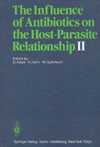 9780387158433: The Influence of Antibiotics on the Host-Parasite Relationship II