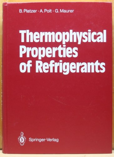 Stock image for Thermophysical Properties of Refrigerants for sale by GridFreed
