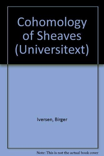 9780387163895: Cohomology of Sheaves (Universitext)