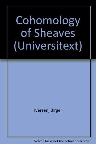 9780387163895: Cohomology of Sheaves (Universitext)