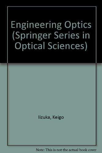 9780387171319: Engineering Optics (Springer Series in Optical Sciences)