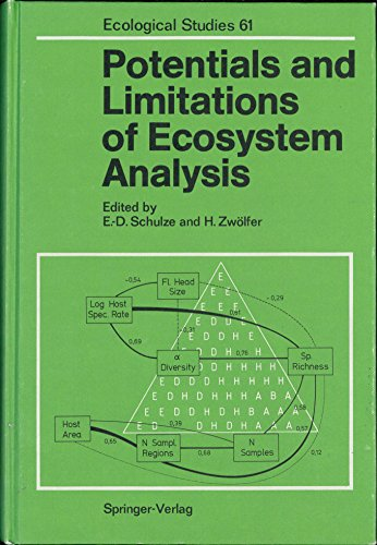 Potentials and Limitations of Ecosystem Analysis (Ecological Studies 61): Schulze, E. D., Zwolfer, ...