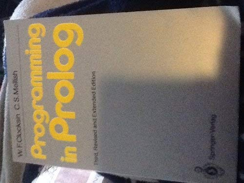 9780387175393: Programming in Prolog