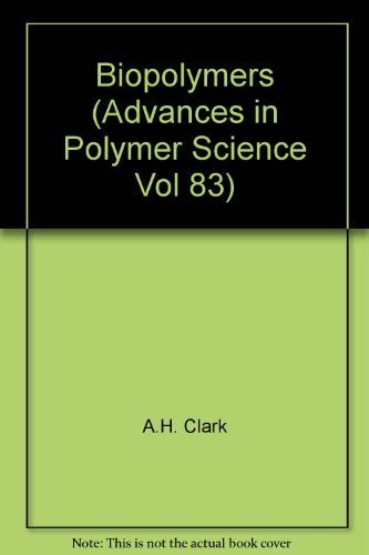 9780387177793: Advances in Polymer Science Volume 83: Biopolymers