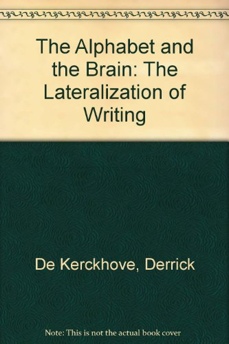 9780387181226: The Alphabet and the Brain: The Lateralization of Writing