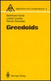 9780387181905: Greedoids (Algorithms & Combinatorics)