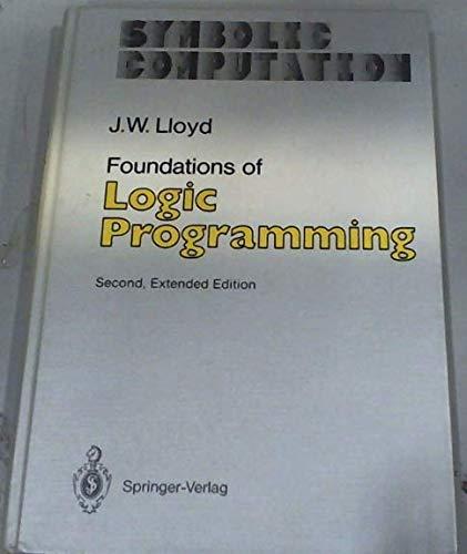 9780387181998: Foundations of Logic Programming (Symbolic Computation : Artificial Intelligence)