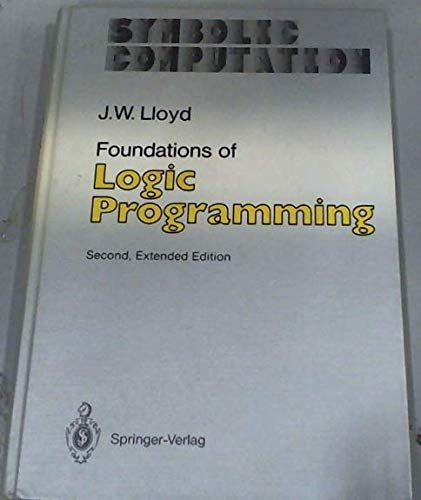 9780387181998: Foundations of Logic Programming (Symbolic Computation : Artificial Intelligence)
