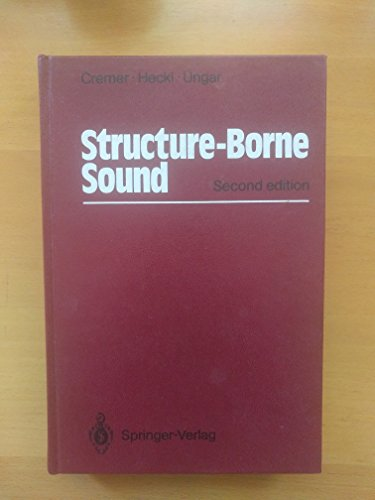 9780387182414: Structure-Borne Sound: Structural Vibrations and Sound Radiation at Audio Frequencies