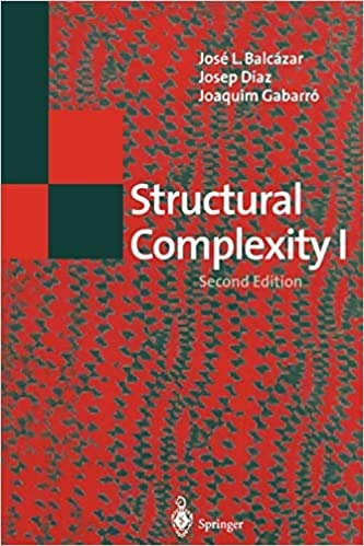 Structural Complexity I (E a T C S Monographs on Theoretical Computer Science): Balcazar, Jose Luis...