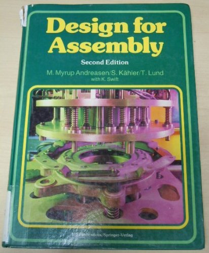Design for Assembly: Andreasen et alii