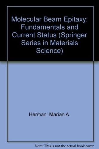 9780387190754: Molecular Beam Epitaxy: Fundamentals and Current Status (Springer Series in Materials Science)