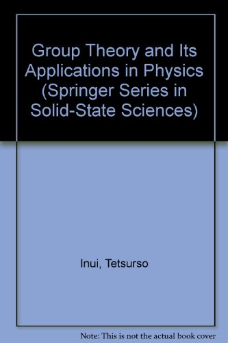 9780387191058: Group Theory and Its Applications in Physics (Springer Series in Solid-state Sciences)