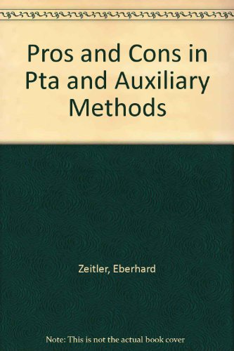 9780387193069: Pros and Cons in Pta and Auxiliary Methods