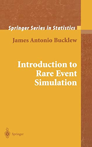 Introduction To Rare Event Simulation (Hb): Bucklew J.A.
