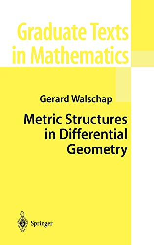 9780387204307: Metric Structures in Differential Geometry