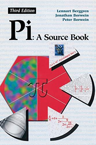 9780387205717: Pi: A Source Book