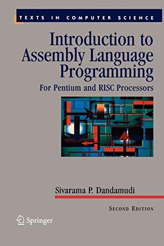 9780387206363: Introduction To Assembly Language Programming: For Pentium And Risc Processors : With 75 illustrations
