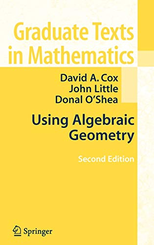 9780387207063: Using Algebraic Geometry