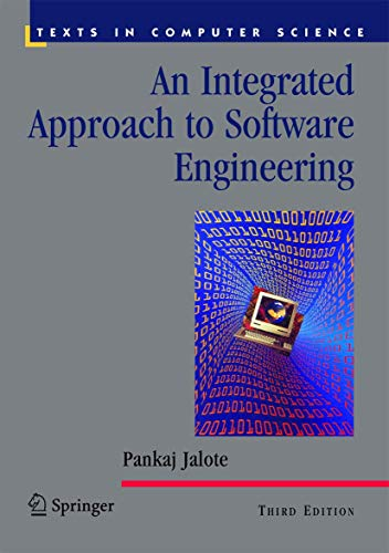 9780387208817: An Integrated Approach to Software Engineering (Texts in Computer Science)
