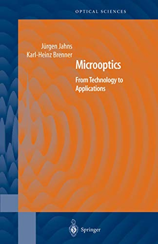 9780387209807: Microoptics: From Technology to Applications: v. 97 (Springer Series in Optical Sciences)