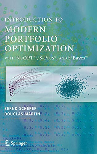 Introduction to Modern Portfolio Opimization with NUOPT: Scherer Bernd and