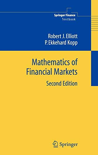9780387212920: Mathematics of Financial Markets (Springer Finance / Springer Finance Textbooks)