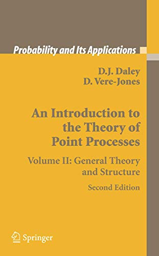 An Introduction to the Theory of Point: Vere-Jones, David, Daley,