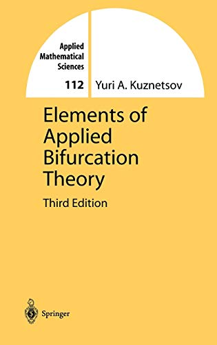 9780387219066: Elements of Applied Bifurcation Theory (Applied Mathematical Sciences)