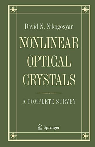 9780387220222: Nonlinear Optical Crystals: A Complete Survey