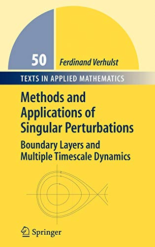 Methods and Applications of Singular Perturbations: Boundary: Ferdinand Verhulst